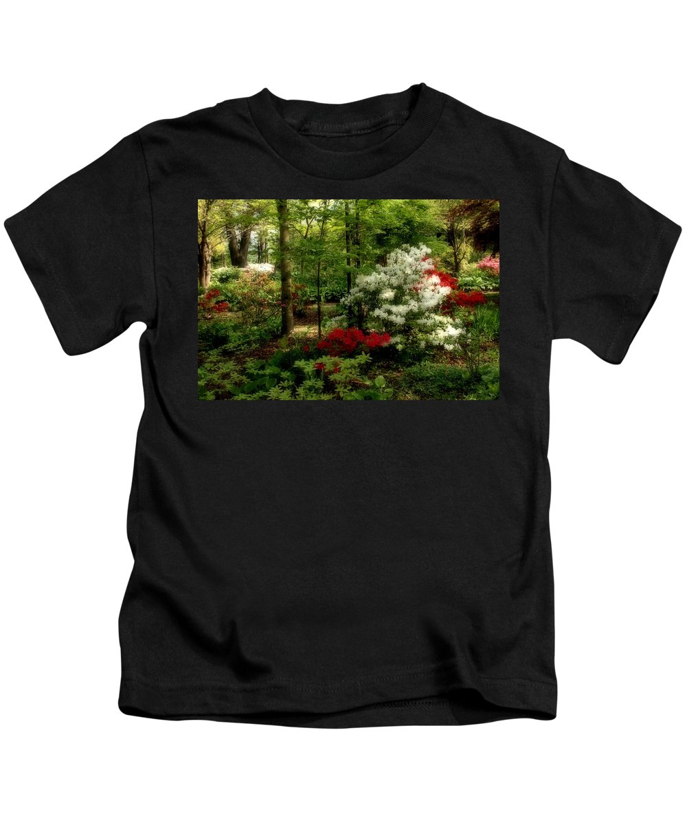 Spring Kids T-Shirt featuring the photograph Dreaming Of Spring by Sandy Keeton