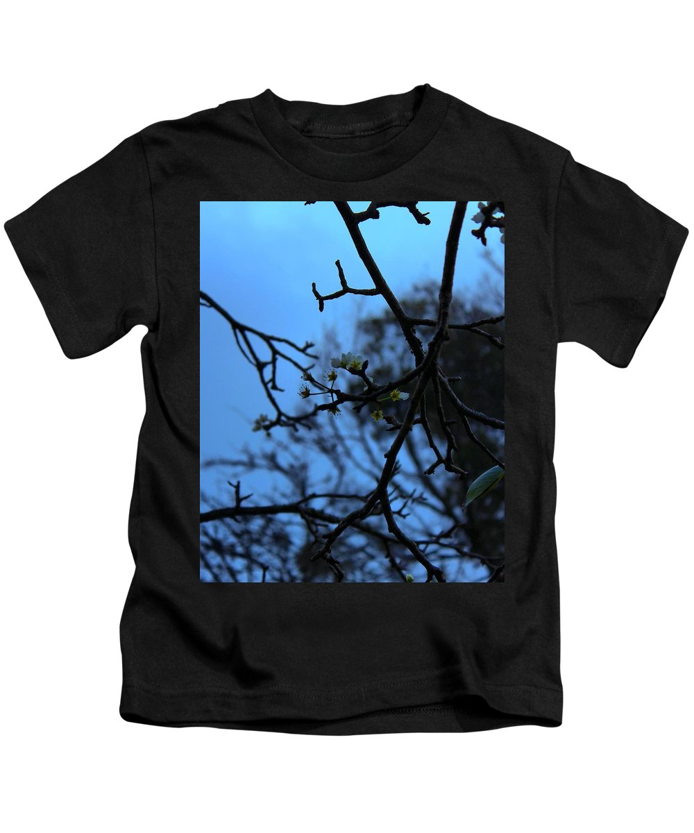Flowers Kids T-Shirt featuring the photograph Dreamy Flowers by Anuroop Chandra