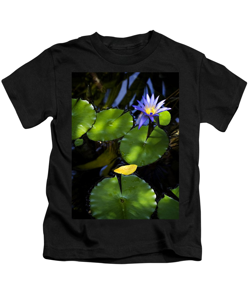 Lotus Kids T-Shirt featuring the photograph Dreamy Lotus by Marilyn Hunt
