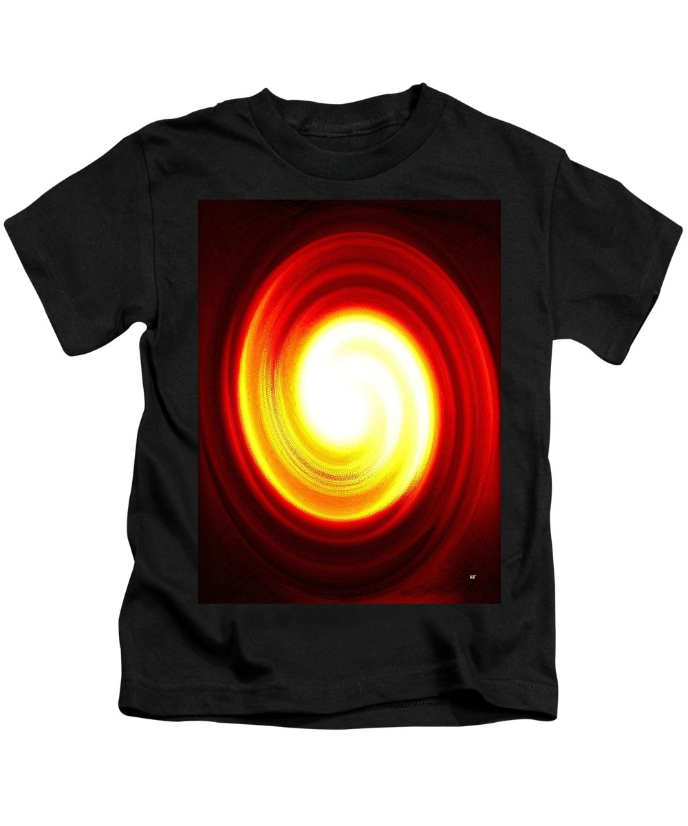 Abstract Kids T-Shirt featuring the digital art Driving Force by Will Borden