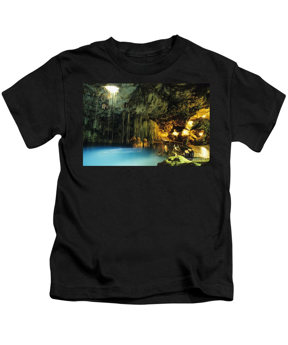 Beautiful Kids T-Shirt featuring the photograph Dzitnup Natural Well by Bill Schildge - Printscapes