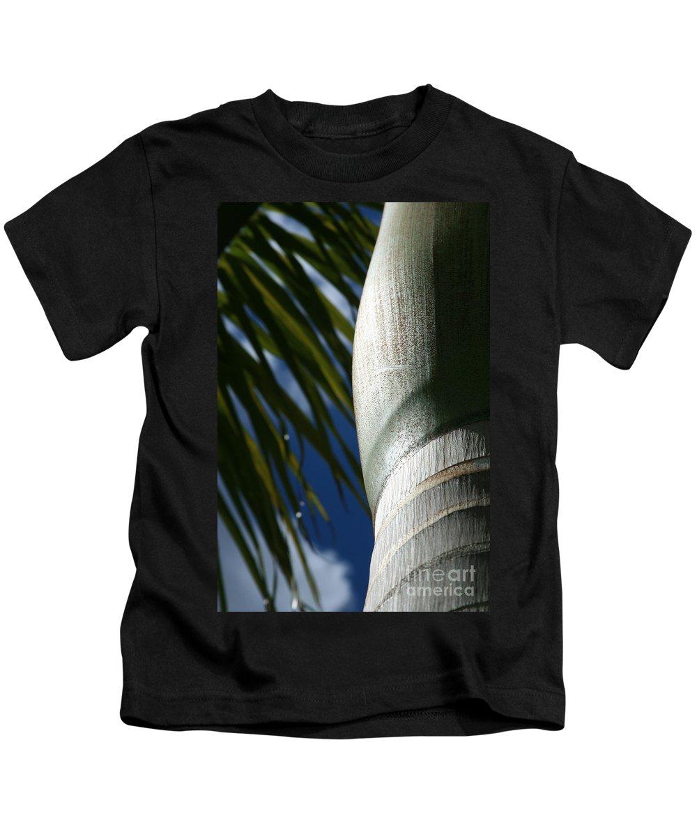 Palm Trees Kids T-Shirt featuring the photograph E Hawaii Aloha E by Sharon Mau