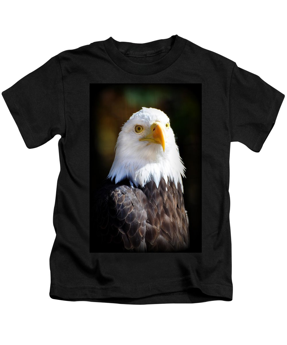 Eagle Kids T-Shirt featuring the photograph Eagle 14 by Marty Koch