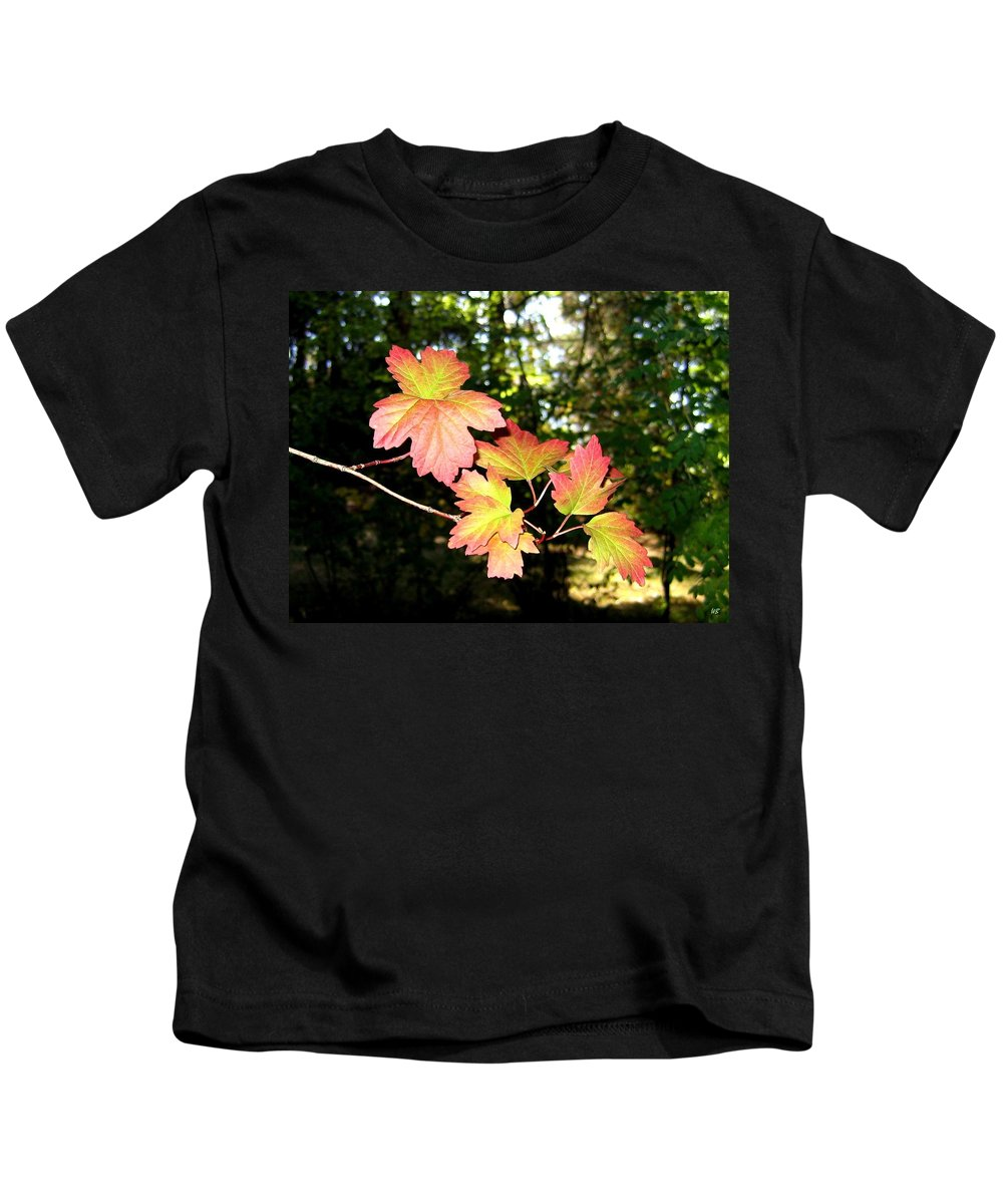 Autumn Kids T-Shirt featuring the photograph Early Days Of Autumn by Will Borden