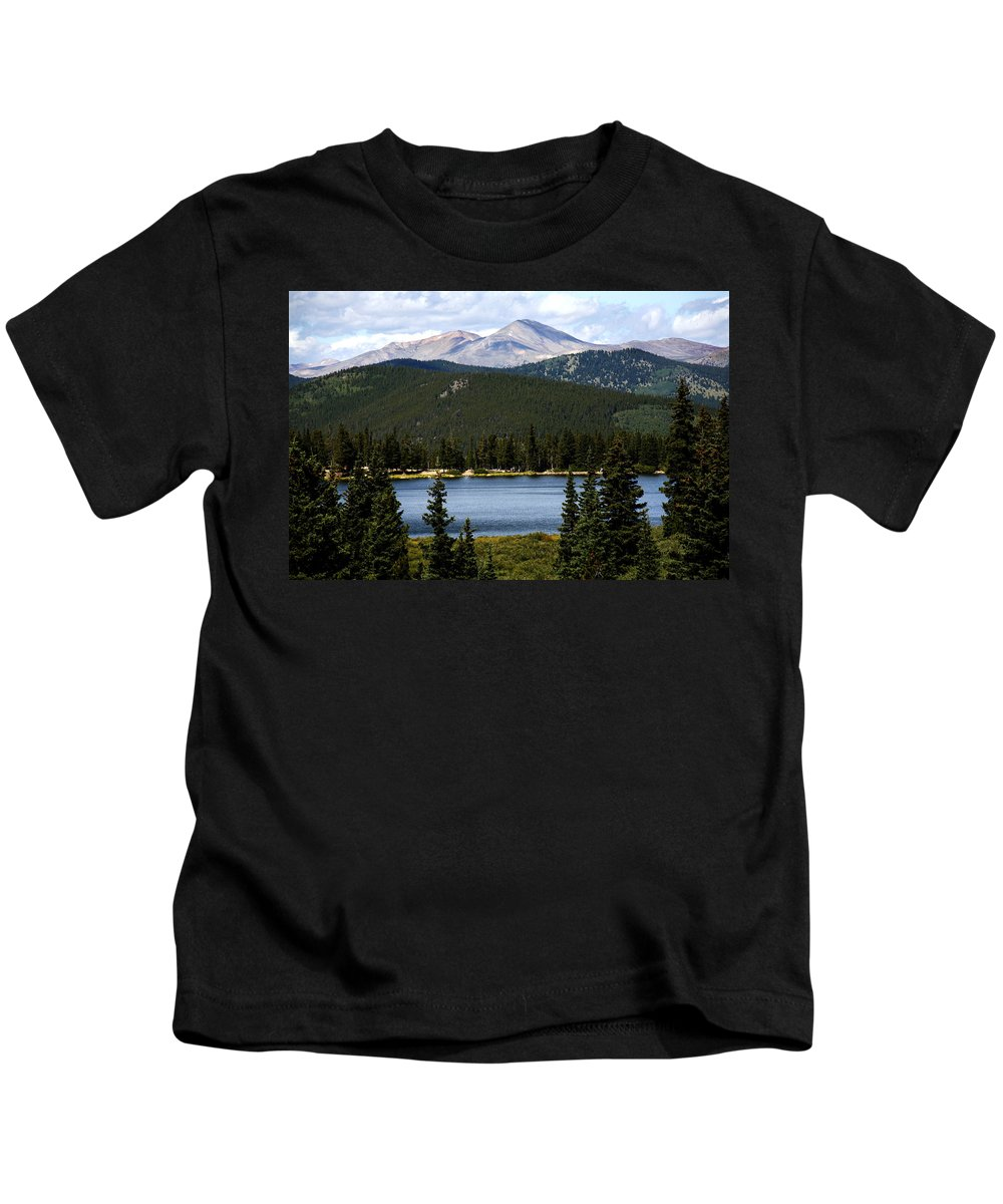 Colorado Kids T-Shirt featuring the photograph Echo Lake Colorado by Marilyn Hunt