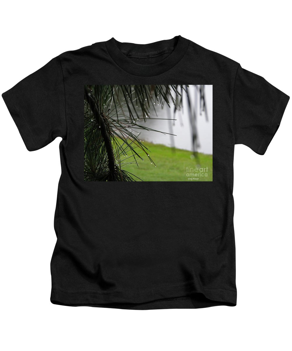 Lakes Kids T-Shirt featuring the photograph Elements by Greg Patzer