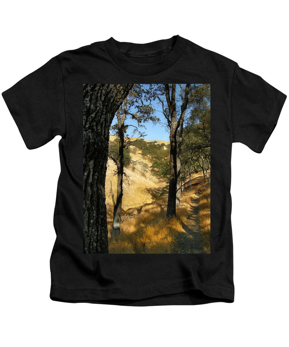 Landscape Kids T-Shirt featuring the photograph Elyon's Doorway by Karen W Meyer