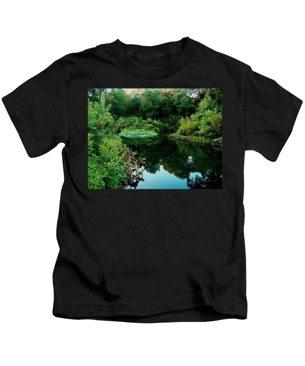 Garden Kids T-Shirt featuring the photograph Enchanted Gardens by Kendall Eutemey