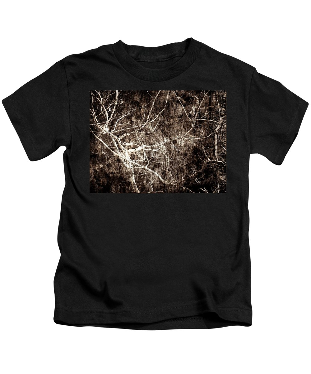 Tree Kids T-Shirt featuring the photograph Endless by Gaby Swanson