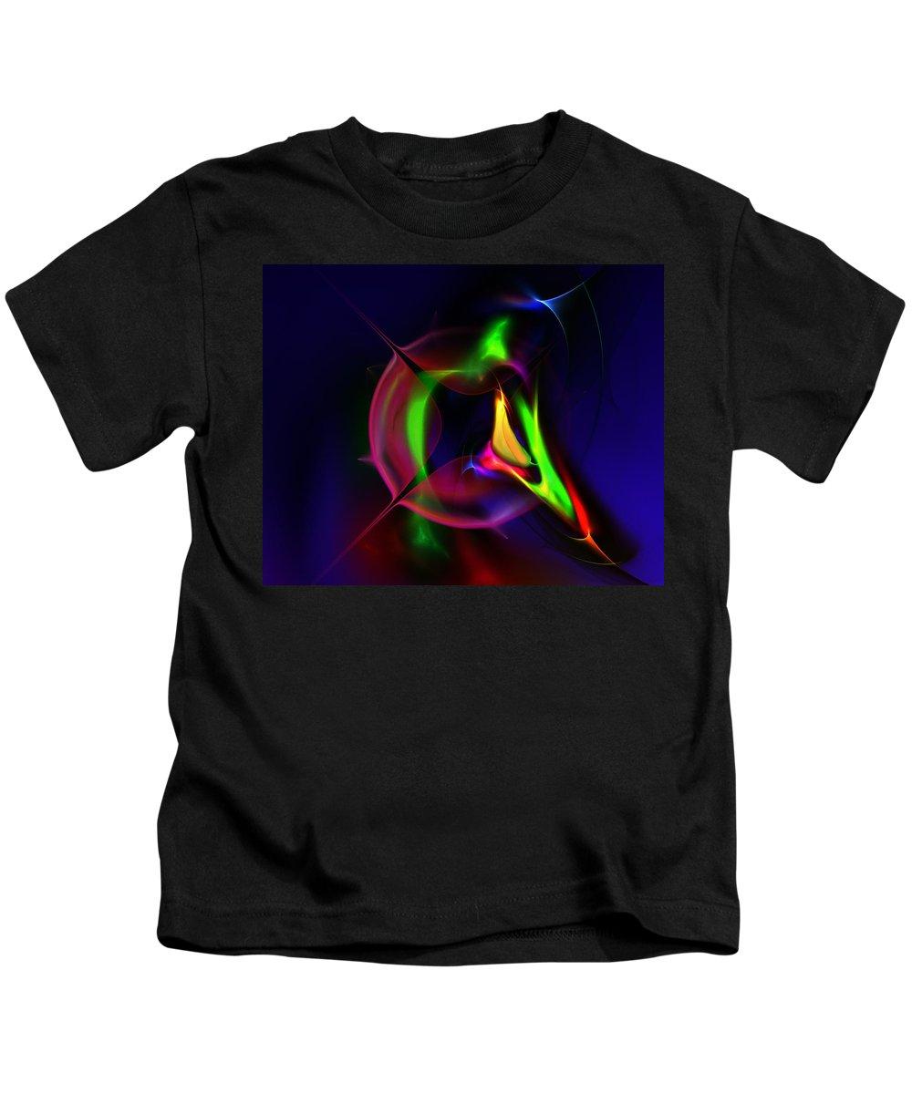 Fine Art Digital Art Kids T-Shirt featuring the digital art Escape by David Lane