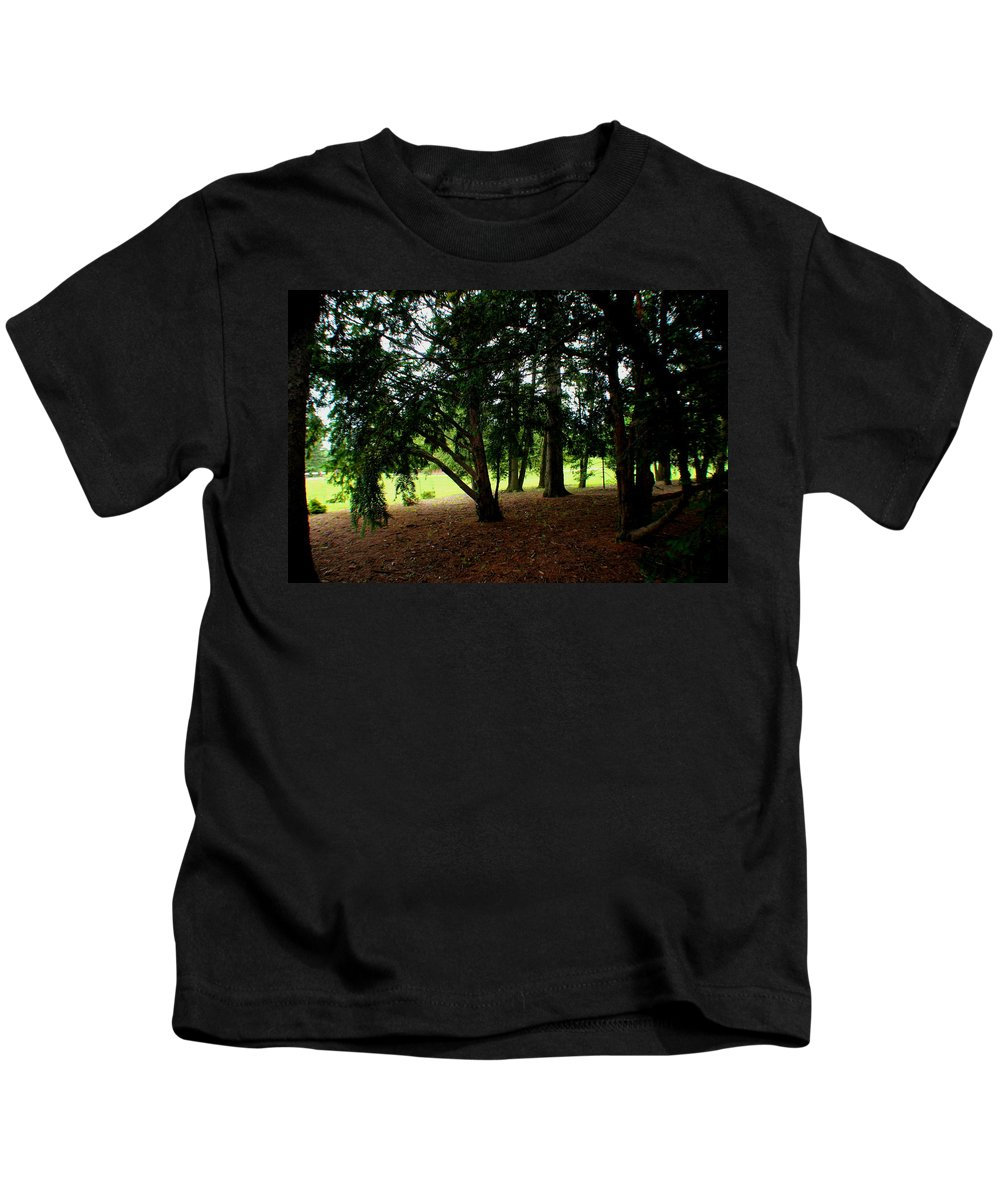 Trees Kids T-Shirt featuring the photograph Essence by Jose Corona
