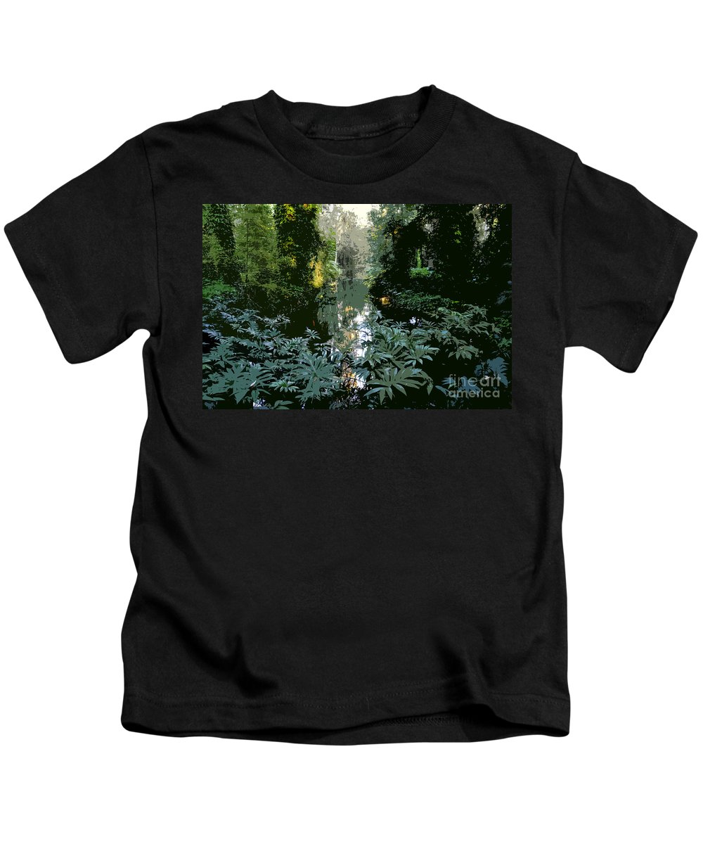 Spring Kids T-Shirt featuring the painting Eureka Springs by David Lee Thompson