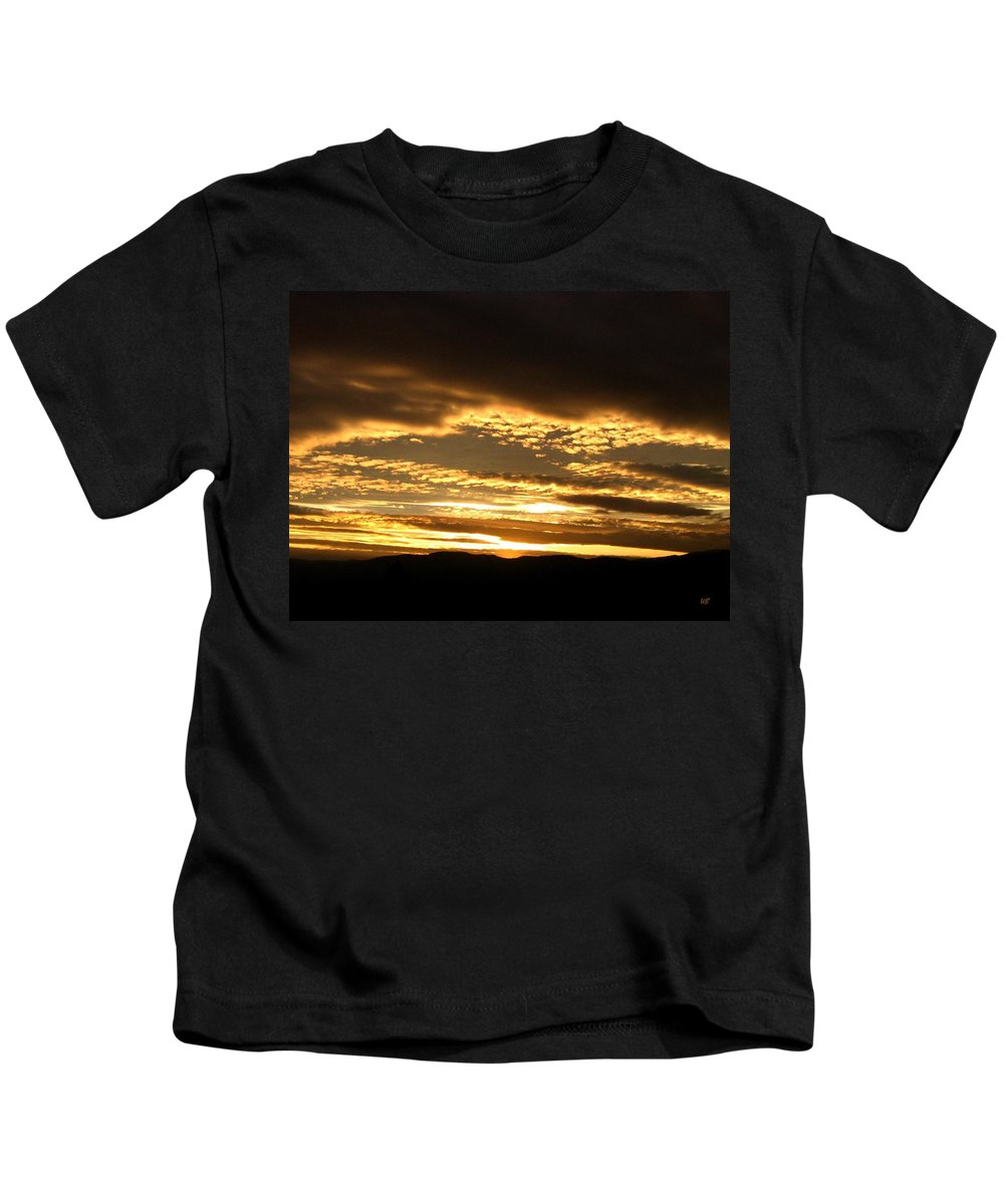 Sunset Kids T-Shirt featuring the photograph Evening Grandeur by Will Borden