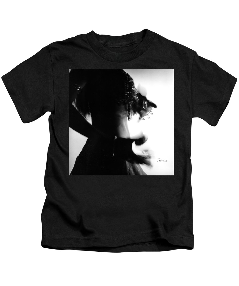 Photography Kids T-Shirt featuring the photograph Exotic Dancer I by Frederic A Reinecke