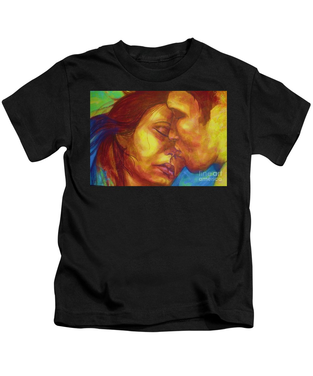Kiss Kids T-Shirt featuring the photograph Expected Kisses by Vesna Antic