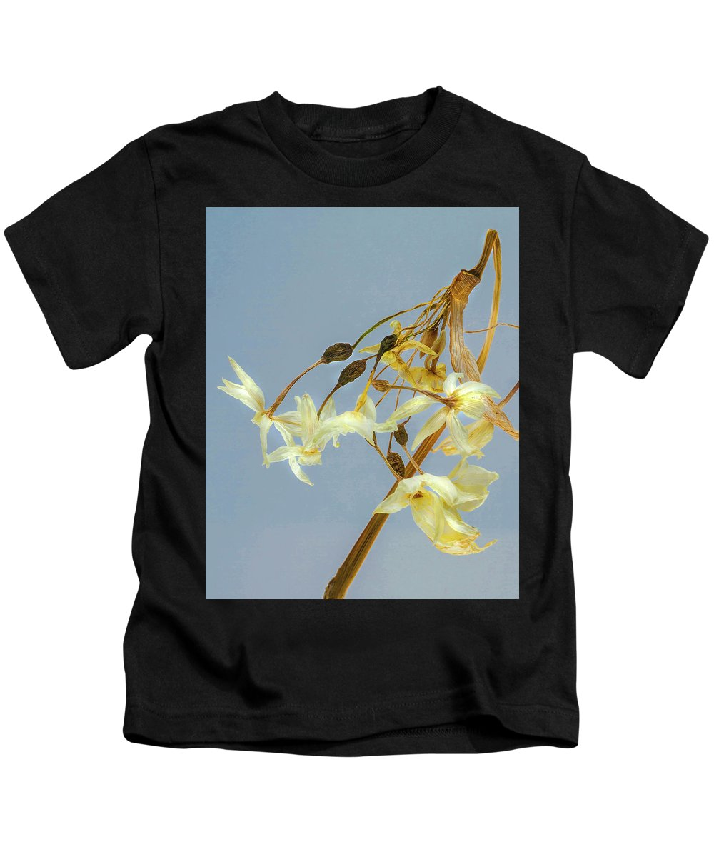 Flower Kids T-Shirt featuring the photograph Faded Beauty by Janice Carter