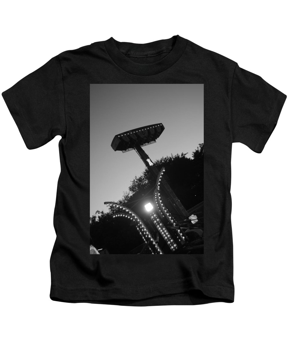 Black And White Photography Kids T-Shirt featuring the photograph Fair Call by Trish Hale
