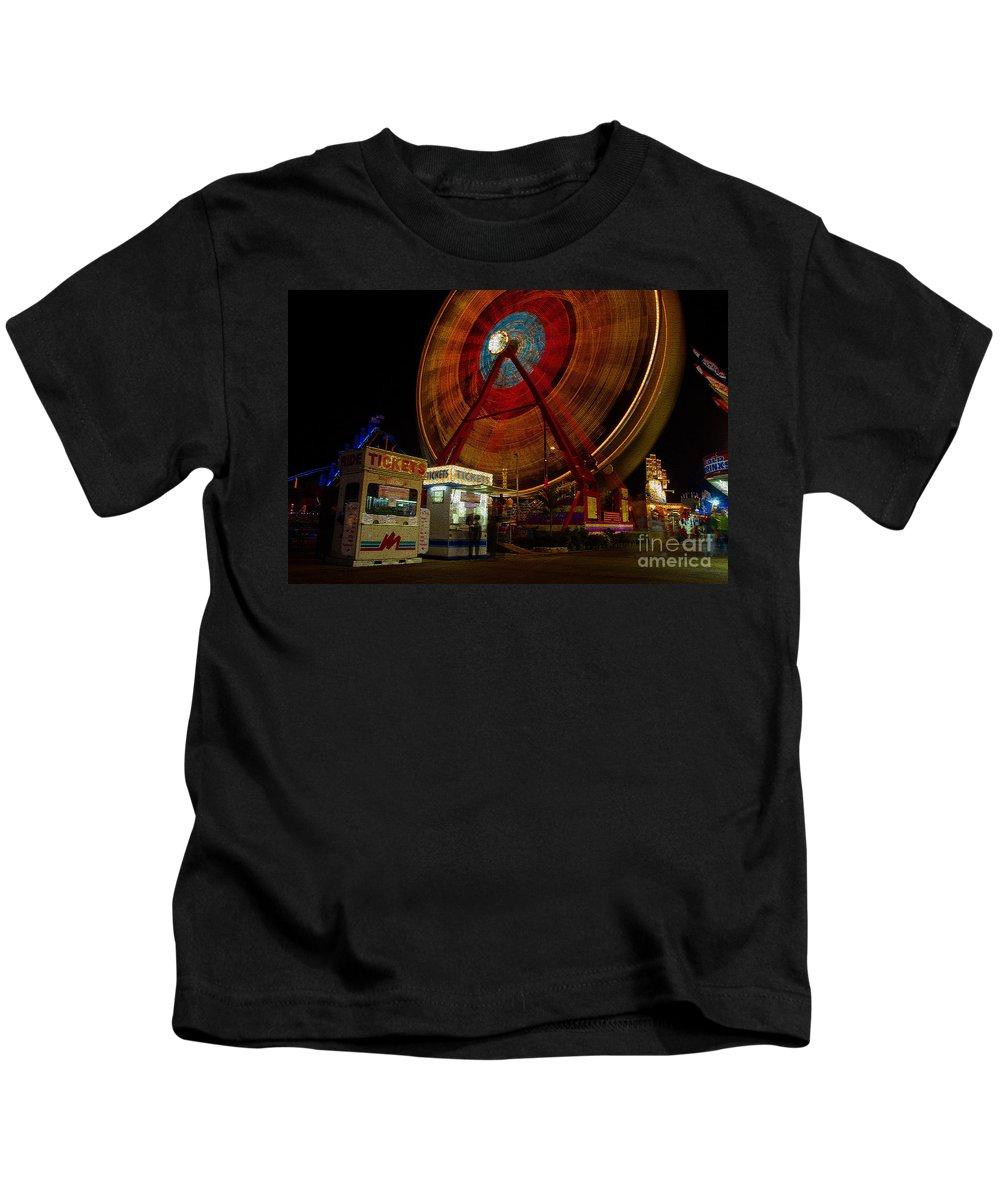Fair Kids T-Shirt featuring the photograph Fair Dreams by David Lee Thompson