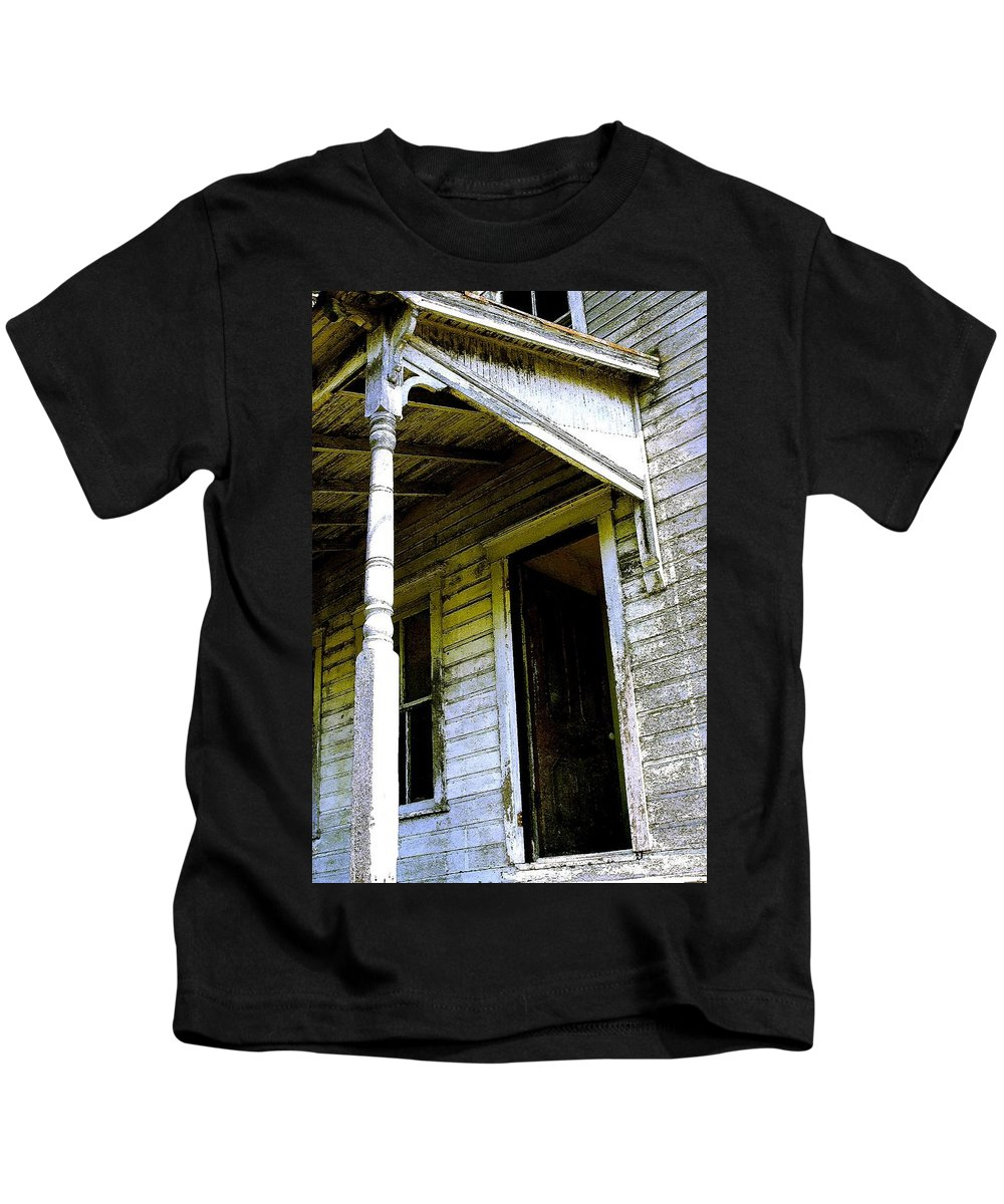 Porch Kids T-Shirt featuring the photograph Fairview Ohio - Number 1 by Nelson Strong