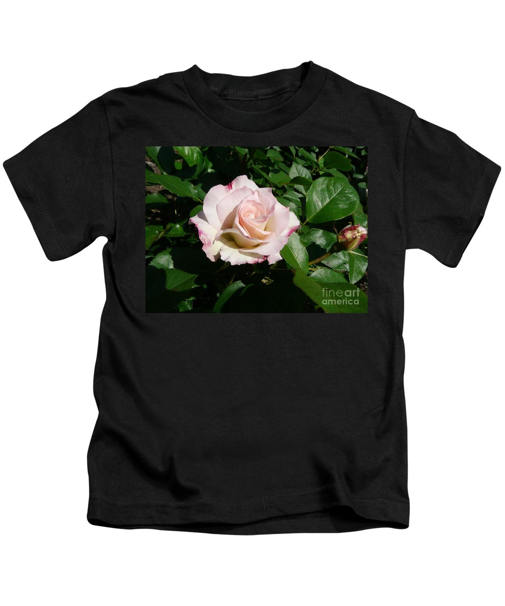 Rose Kids T-Shirt featuring the photograph Fait Accompli by Kendall Eutemey