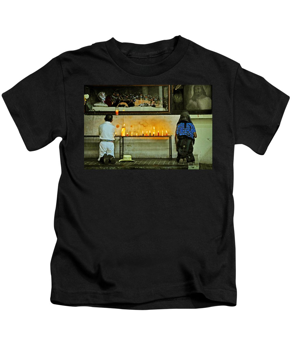 Skip Hunt Kids T-Shirt featuring the photograph Faith by Skip Hunt