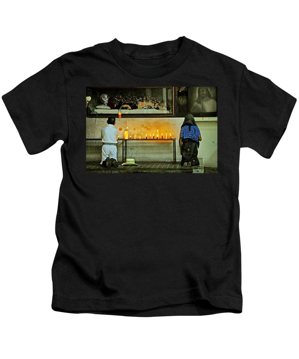 Skip Hunt Kids T-Shirt featuring the photograph Faith by Skip Hunt