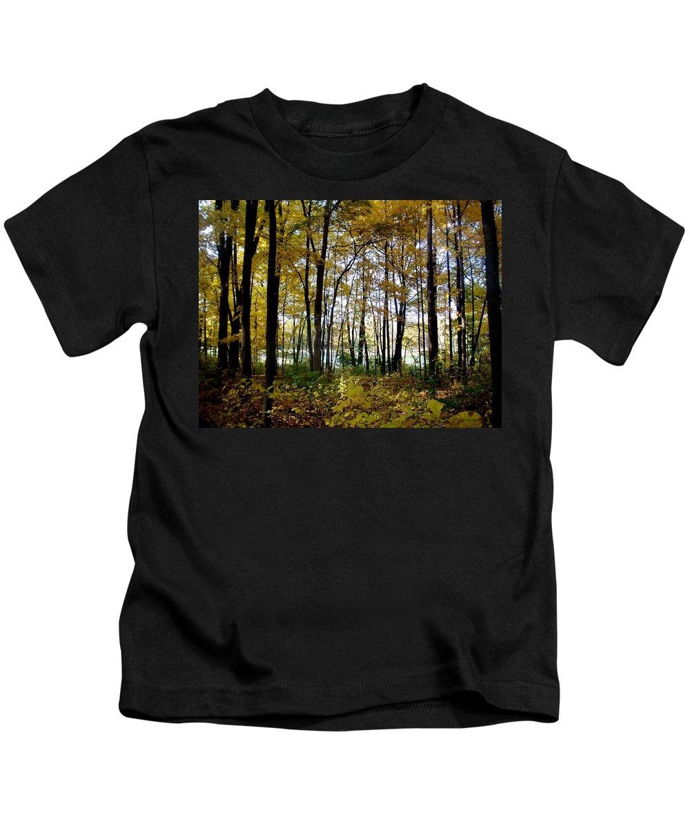 Fall Kids T-Shirt featuring the photograph Fall Series 3 by Anita Burgermeister
