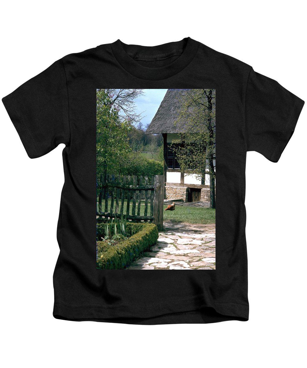 German Kids T-Shirt featuring the photograph Farm by Flavia Westerwelle
