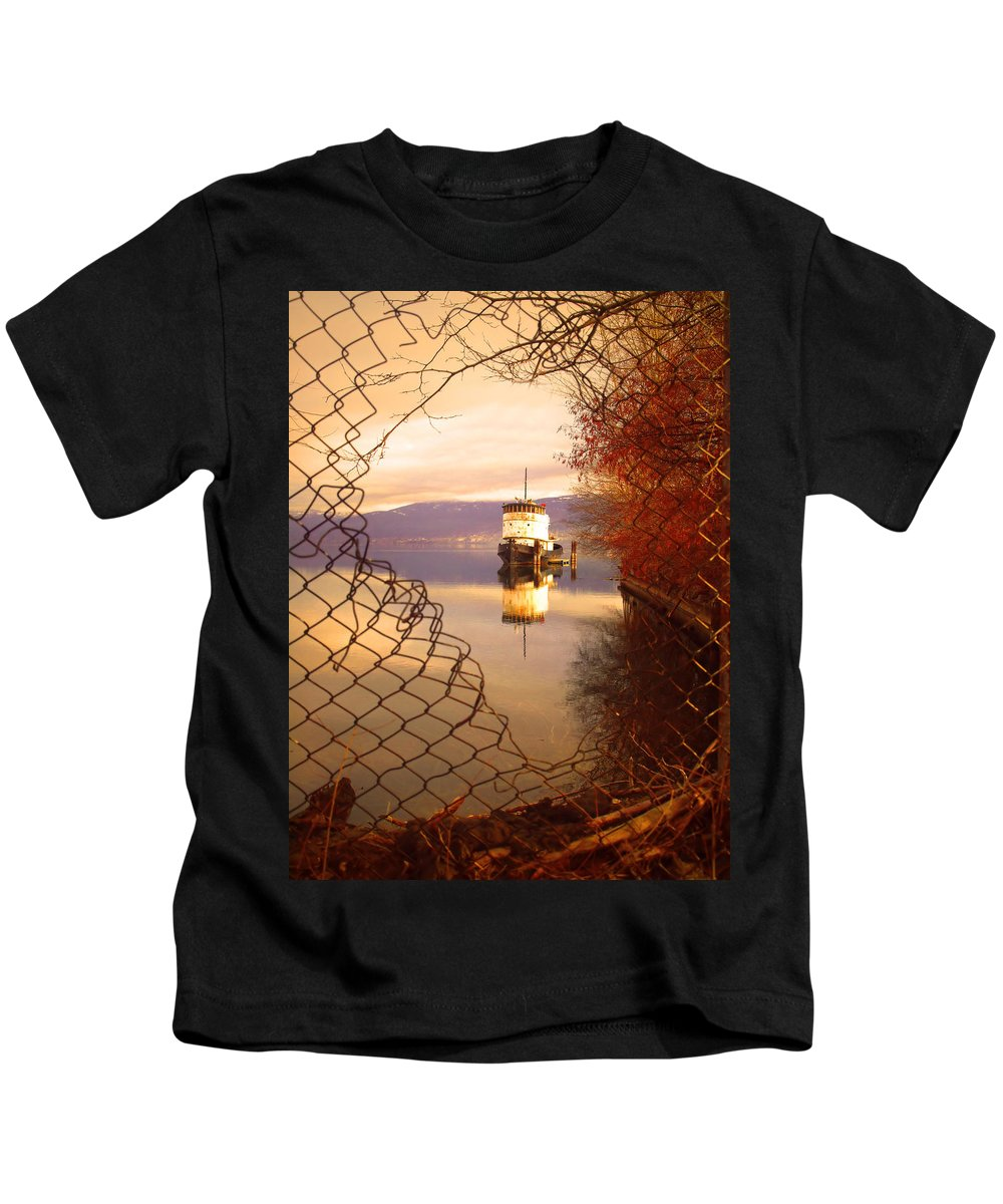 Boat Kids T-Shirt featuring the photograph February 13 2010 by Tara Turner