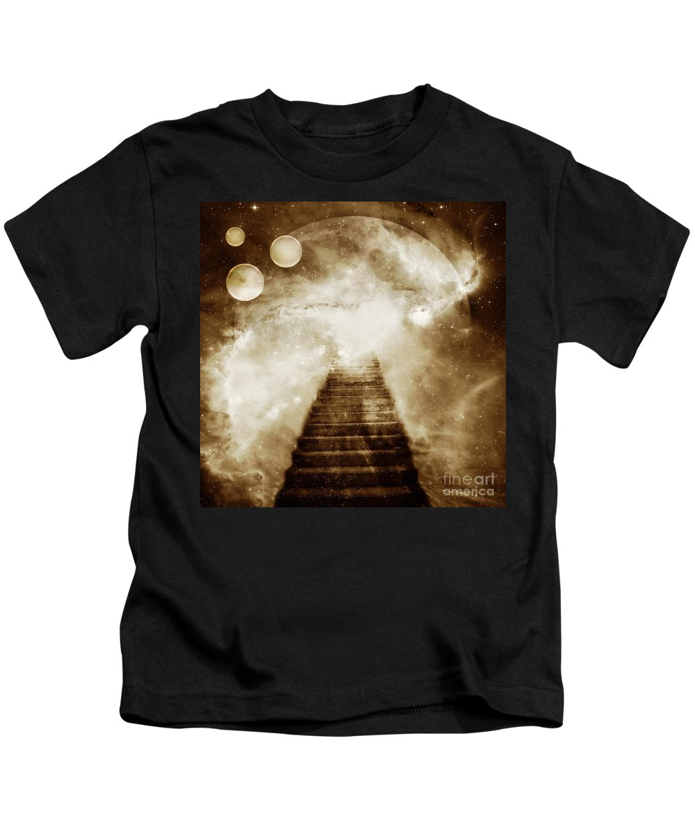 Fantasy Kids T-Shirt featuring the photograph Final Destination by Jacky Gerritsen