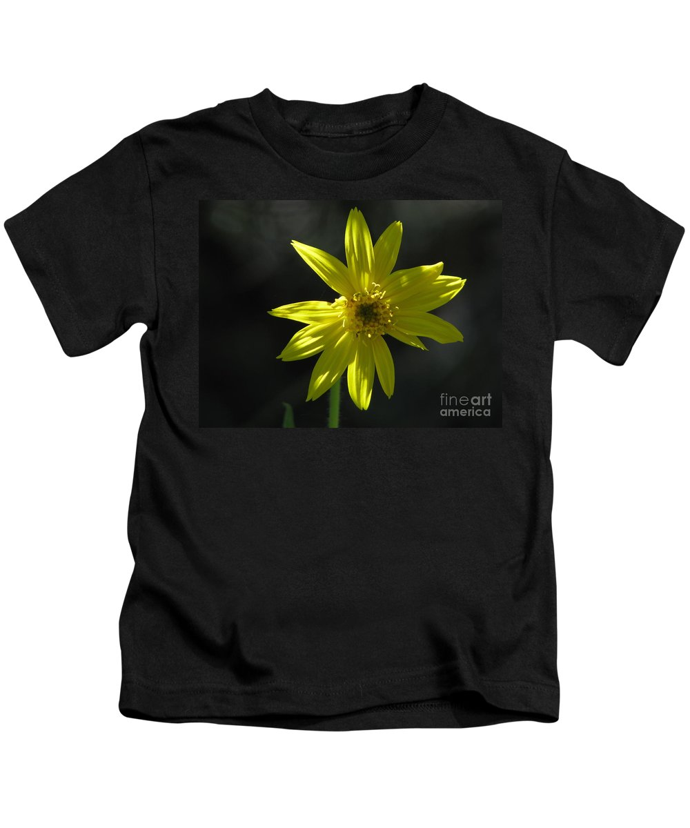 Light Kids T-Shirt featuring the photograph Floral by Amanda Barcon