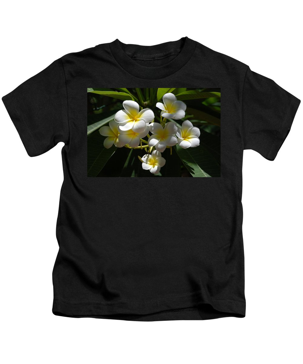 Nature Kids T-Shirt featuring the photograph Floral Beauties by Rob Hans