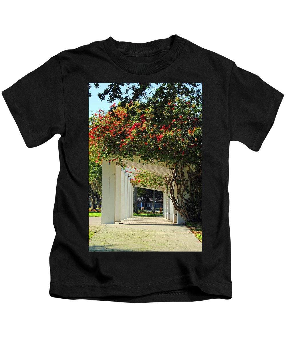 St Petersburg Kids T-Shirt featuring the photograph Floral Or Art by Jost Houk