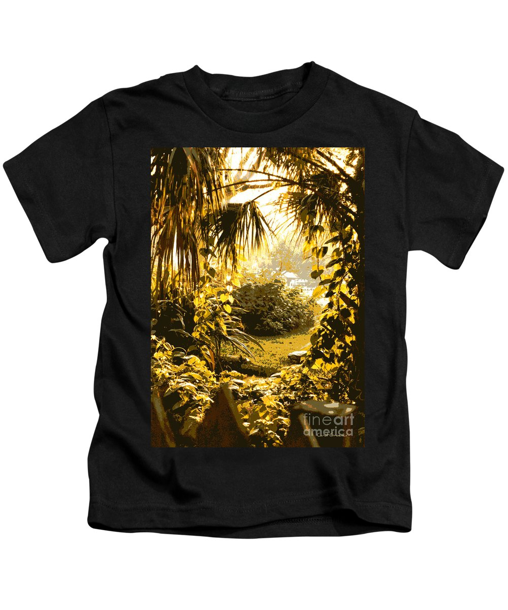 Sunlight Kids T-Shirt featuring the photograph Florida Dream by Carol Groenen