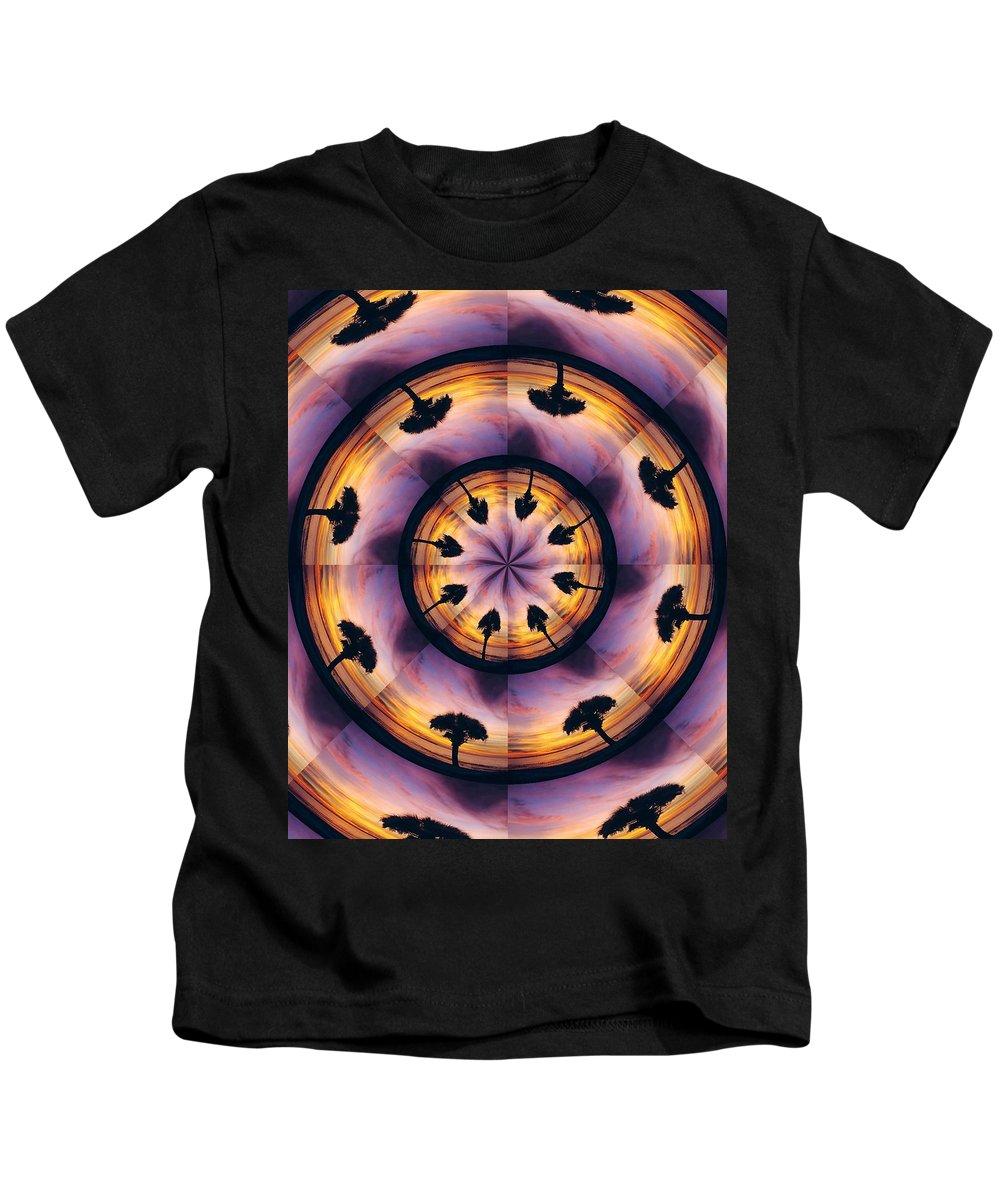 Kaliedoscope Kids T-Shirt featuring the digital art Florida Fun by Peg Urban