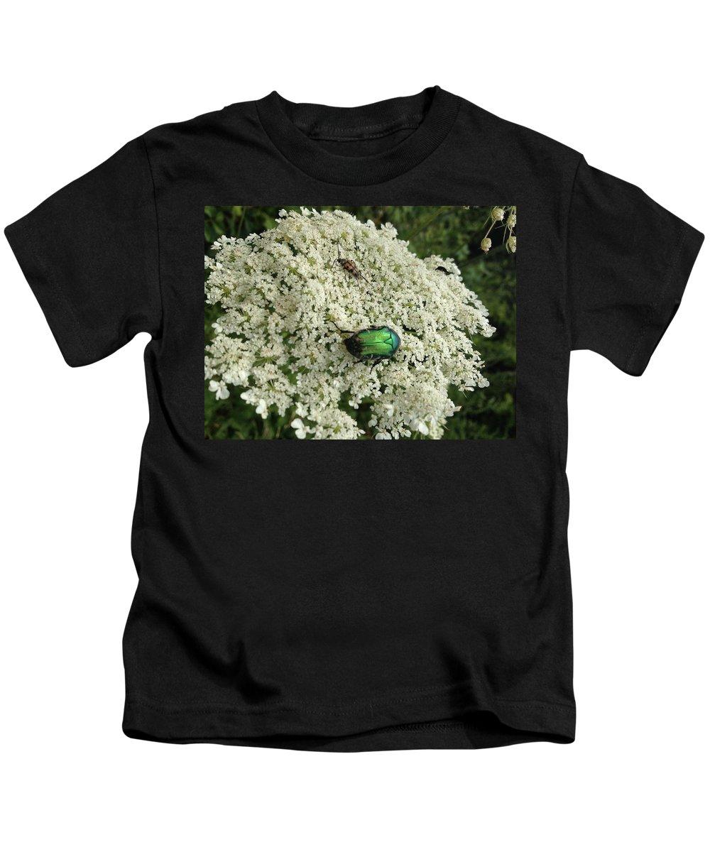 Kids T-Shirt featuring the photograph Flower by Adam Schrenk