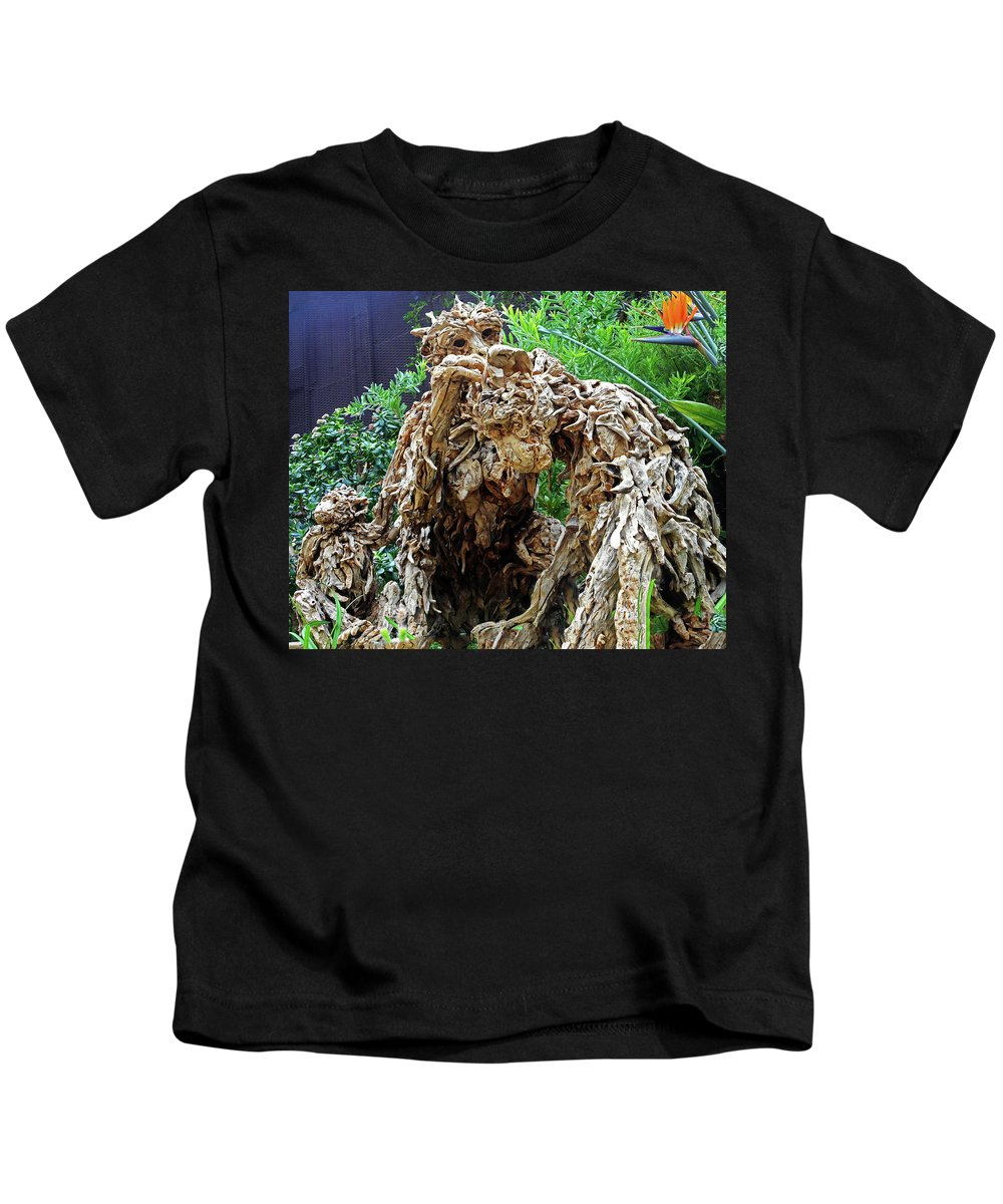 The Dooms Kids T-Shirt featuring the photograph Flower Dome 41 by Ron Kandt