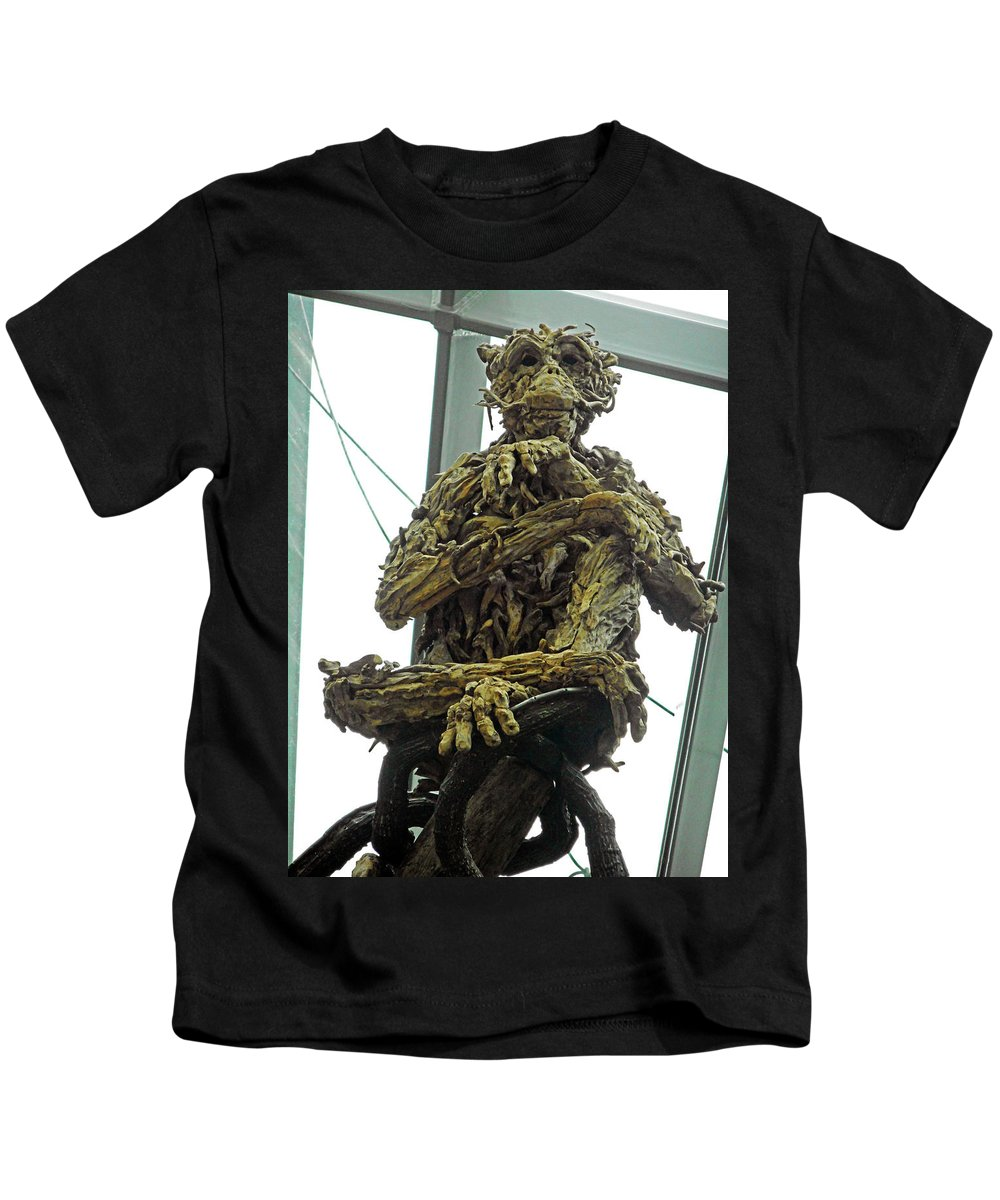 The Dooms Kids T-Shirt featuring the photograph Flower Dome 43 by Ron Kandt