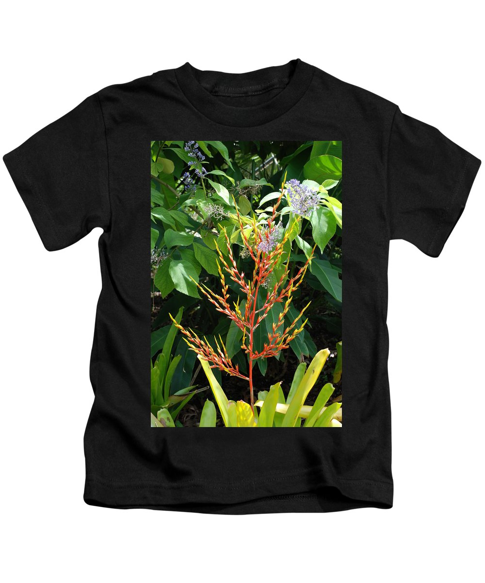 Macro Kids T-Shirt featuring the photograph Flower Plants by Rob Hans