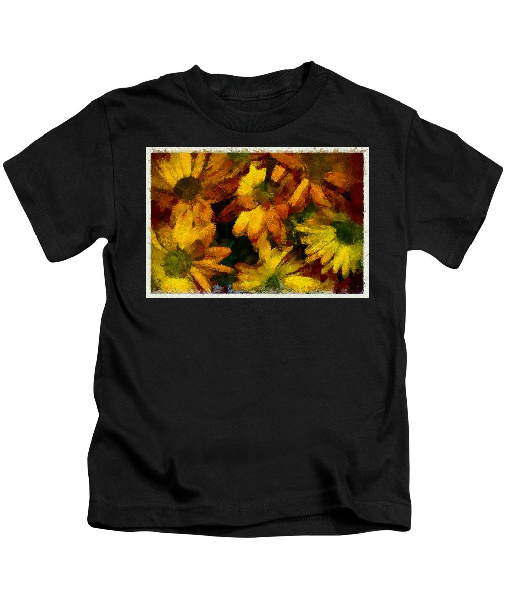 Flower Kids T-Shirt featuring the photograph Flowers Confusion by Galeria Trompiz