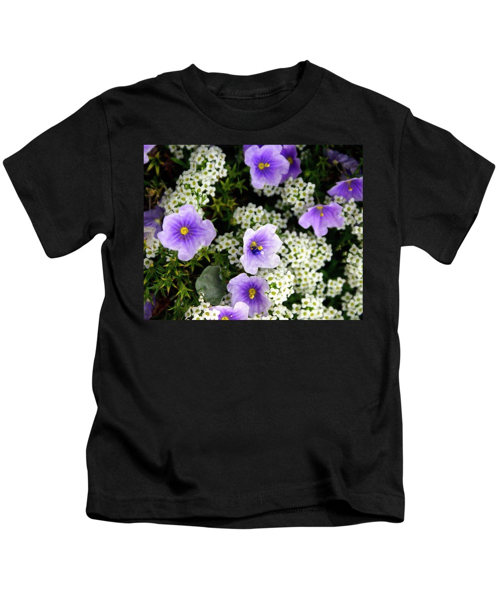 Flowers Kids T-Shirt featuring the photograph Flowers Etc by Marty Koch