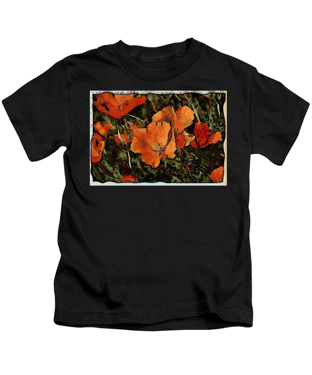 Flower Kids T-Shirt featuring the photograph Flowers by Galeria Trompiz