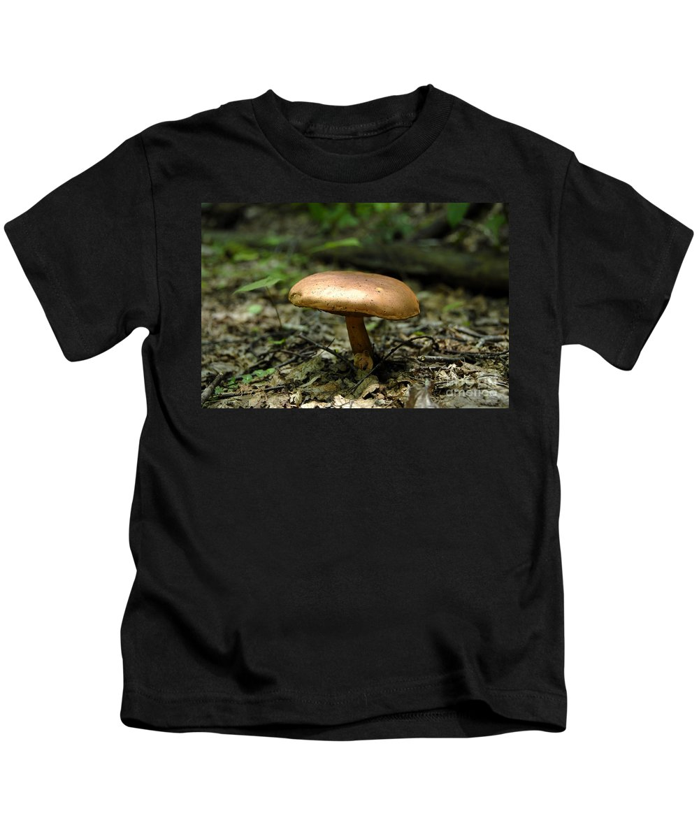 Forest Kids T-Shirt featuring the photograph Forest Mushroom by David Lee Thompson