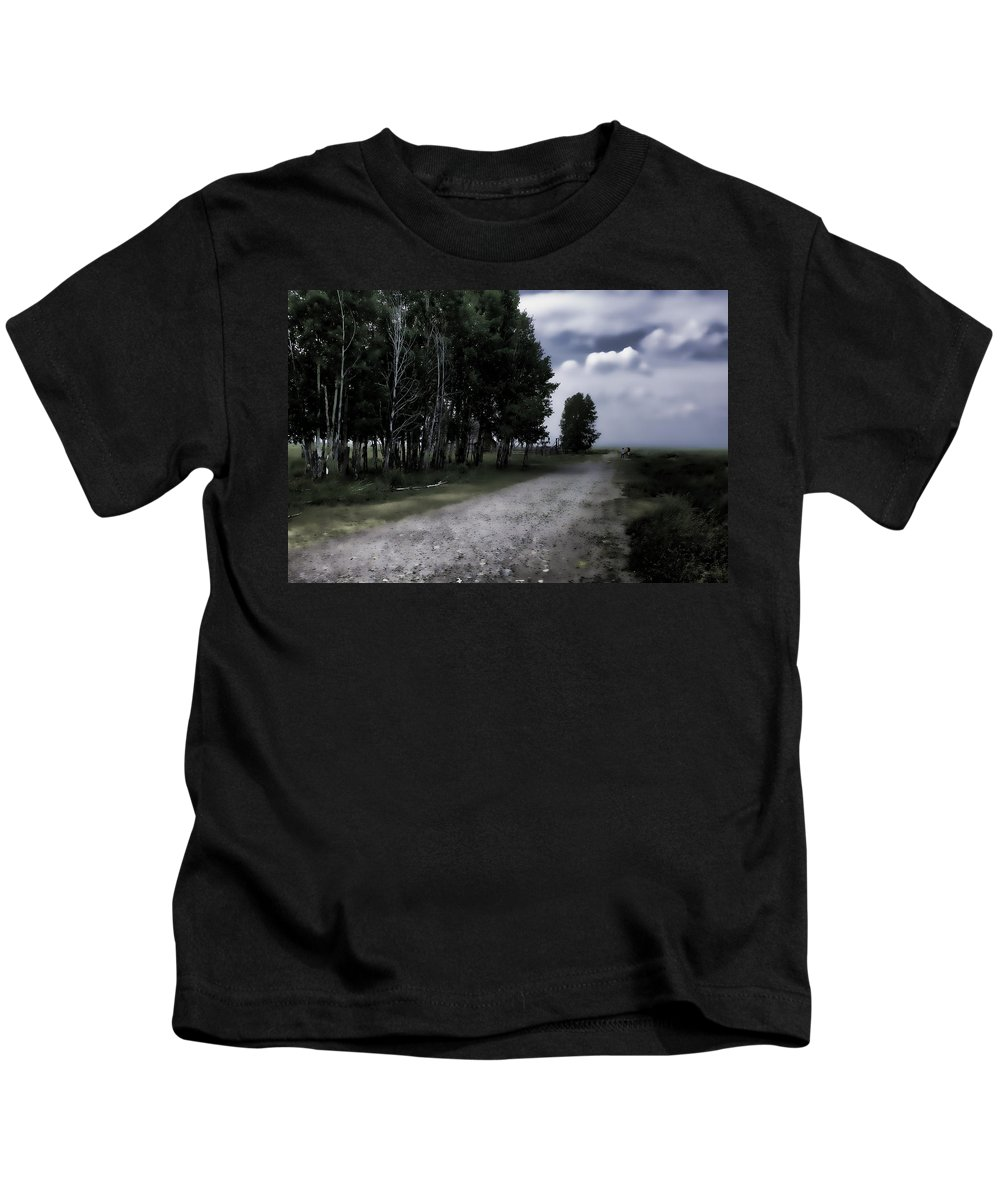 Ranch Kids T-Shirt featuring the photograph Forgotten Ranch by Hugh Smith