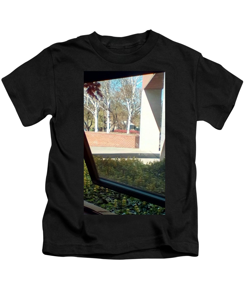 Kids T-Shirt featuring the photograph Framing Scene by Catarina Lucifia