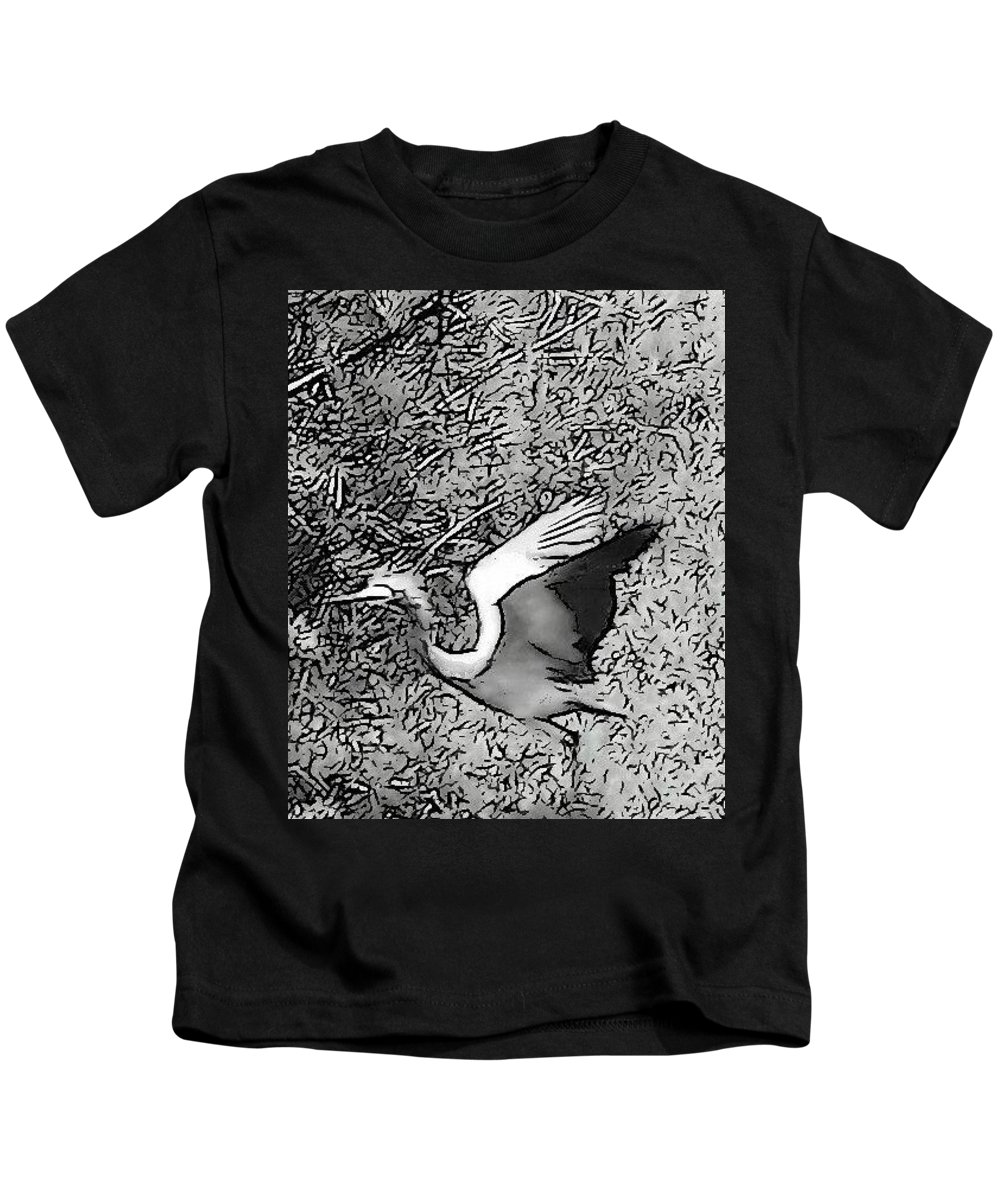 Freedom Kids T-Shirt featuring the photograph Freedom by Sarina Damen