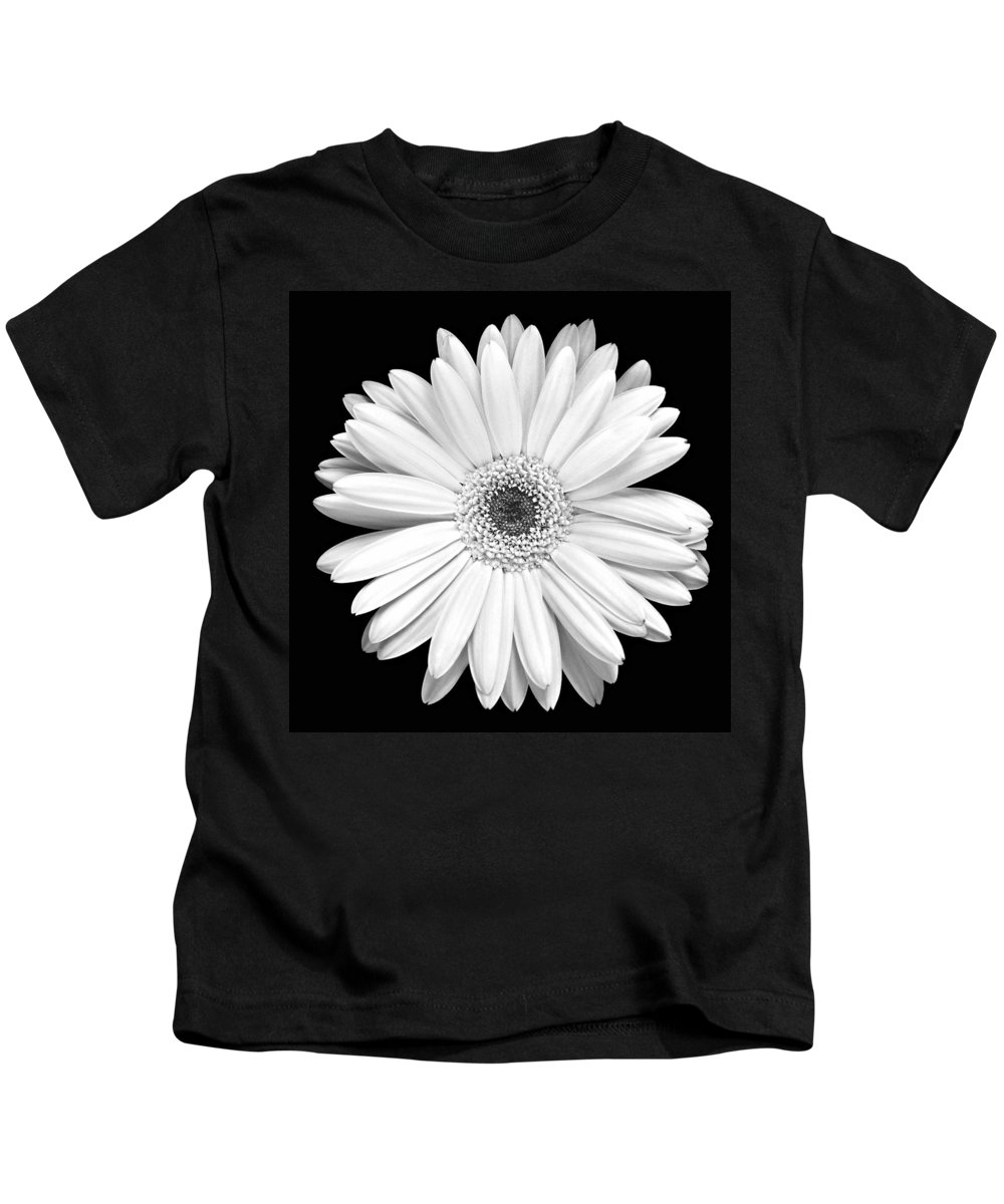 Gerber Kids T-Shirt featuring the photograph Single Gerbera Daisy by Marilyn Hunt