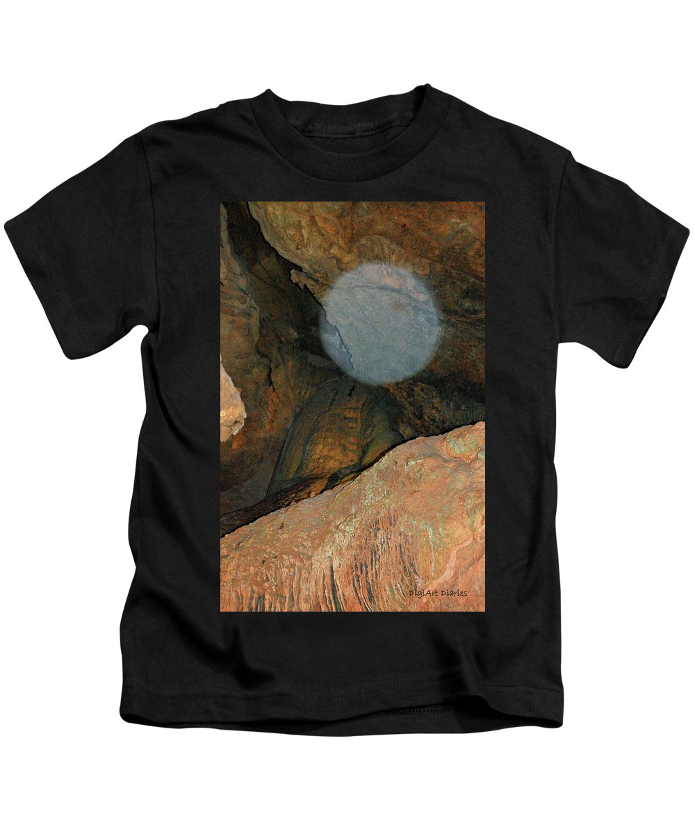 Orb Kids T-Shirt featuring the photograph Ghostly Presence by DigiArt Diaries by Vicky B Fuller