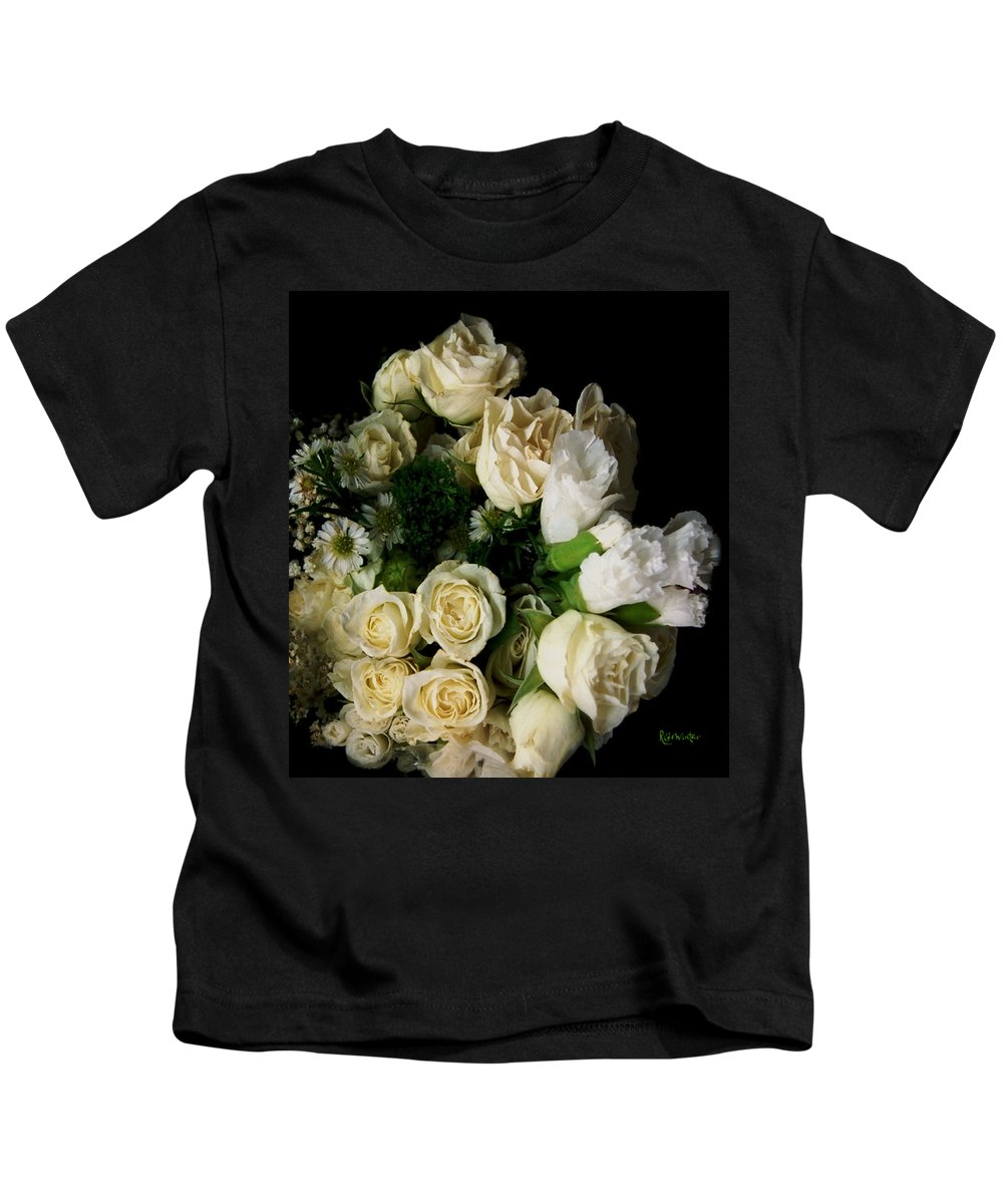 Roses Kids T-Shirt featuring the photograph Glamour by RC DeWinter