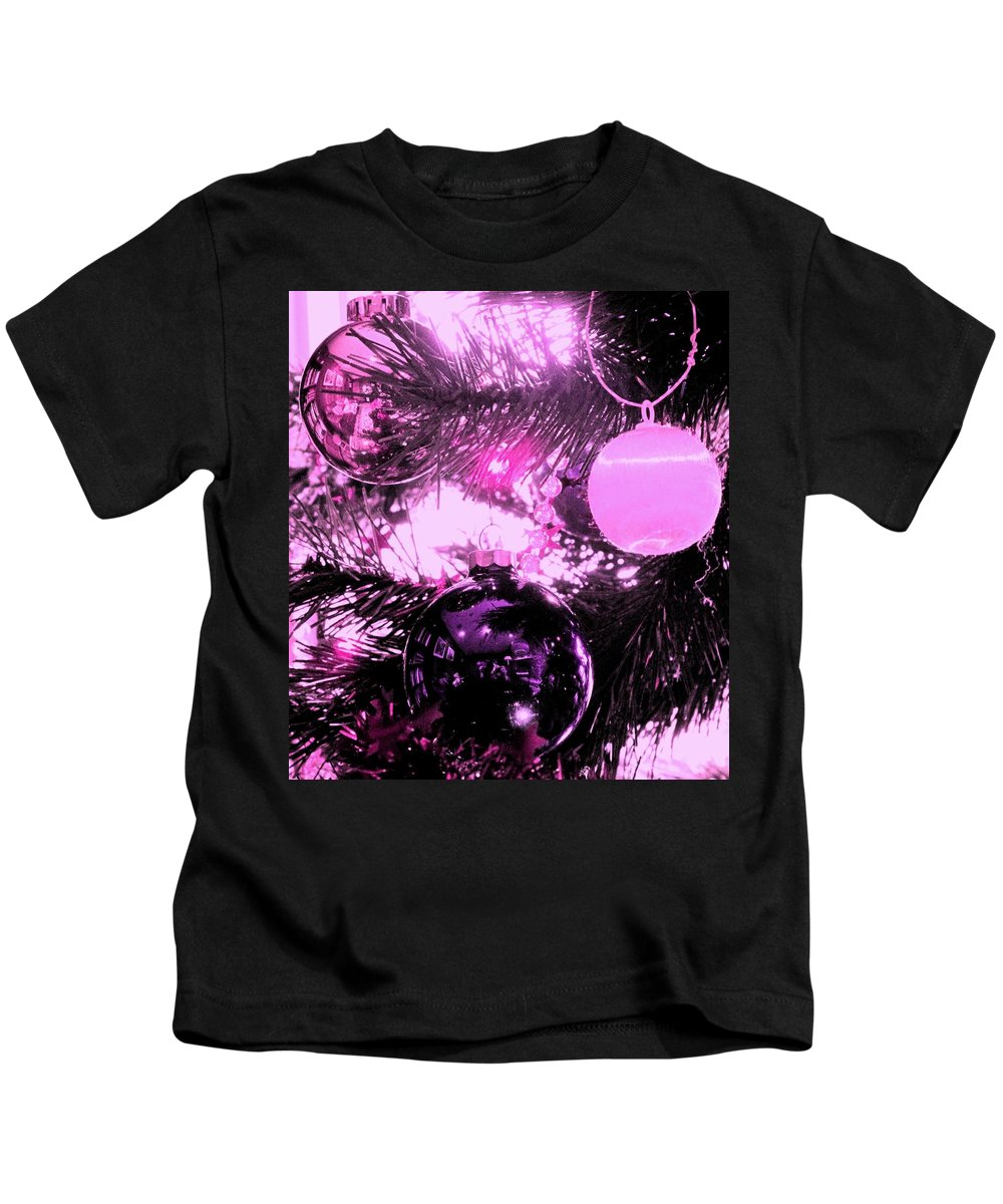 Ornament Kids T-Shirt featuring the photograph Globes by Ian MacDonald